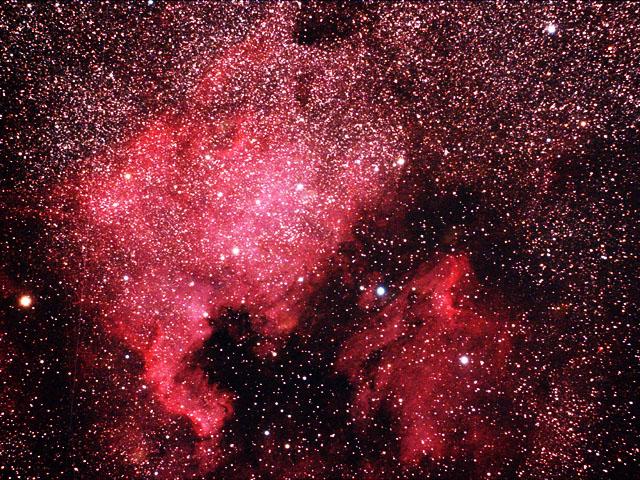 北米星雲・ペリカン星雲