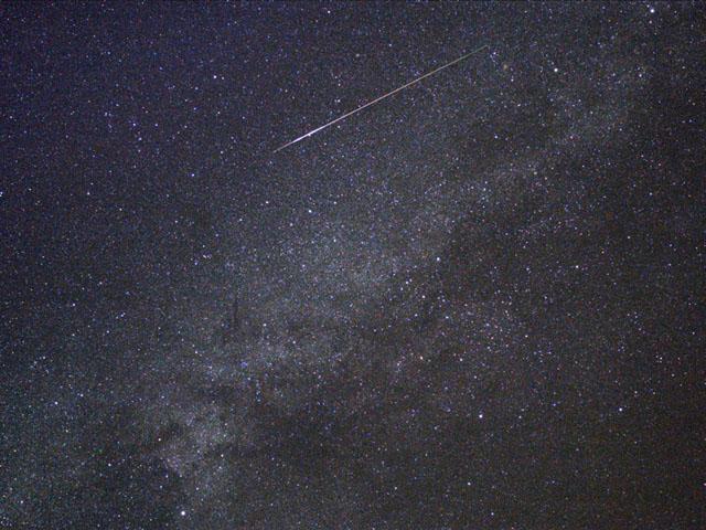 画像をクリックするとペルセウス座流星のページへジャンプします