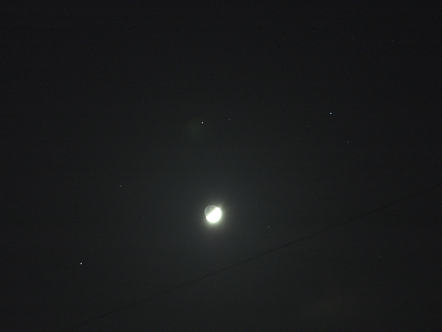 左クリックして月・土星会談のページへどうぞ