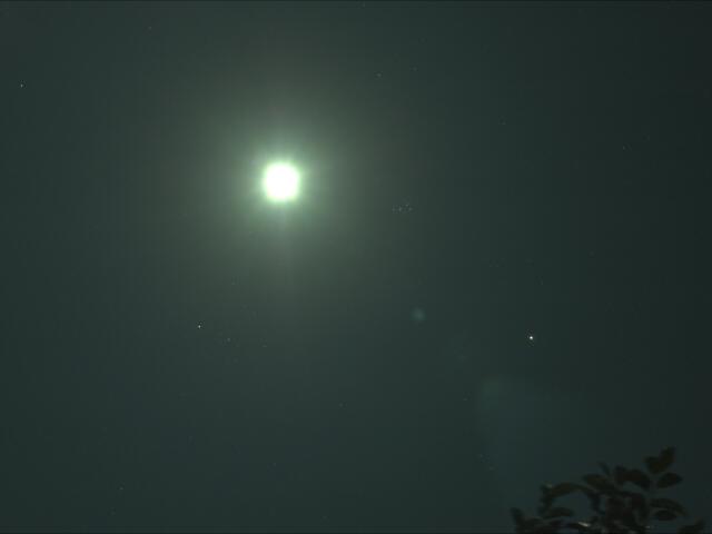 月、火星、牡牛