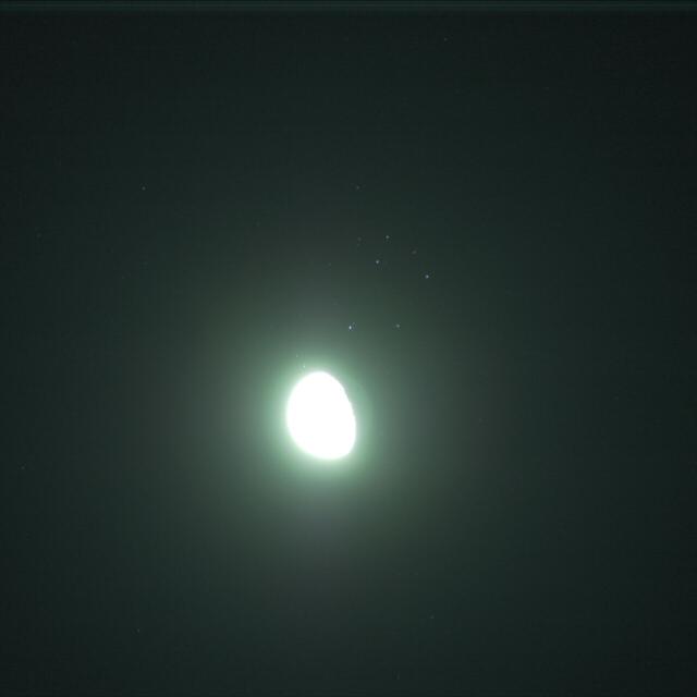 月プレヤデス大接近